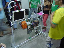 The version of the mimoSa machine created in Belem, Brazil.